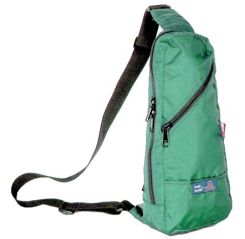 Tough Traveler Jiff Bag - Made in USA Cross-Body Bag - Green