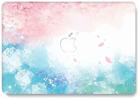 AQYLQ Funda Dura para Macbook Pro Retina de 15 Pulgadas (A1398), Ultra Delgado Carcasa Rígida Protector de Plástico Acabado Mate Cubierta, HR789 Rosa ...