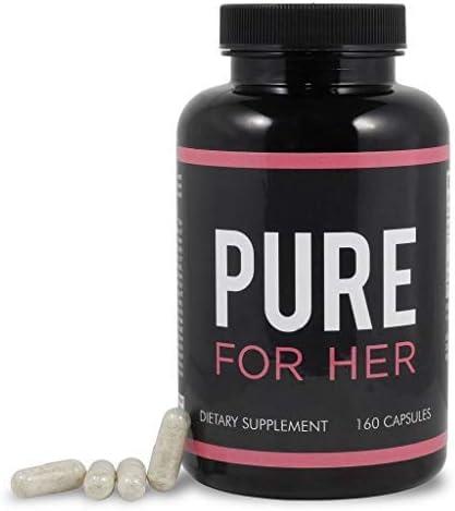 Pure for Her - Suplemento de fibra y control de peso (160 cápsulas ...