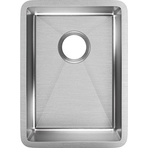 (Elkay ECTRU12179T Crosstown Single Bowl Undermount Stainless Steel Bar Sink)
