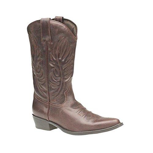 Gringos - Botas de cowboy para hombre Brown