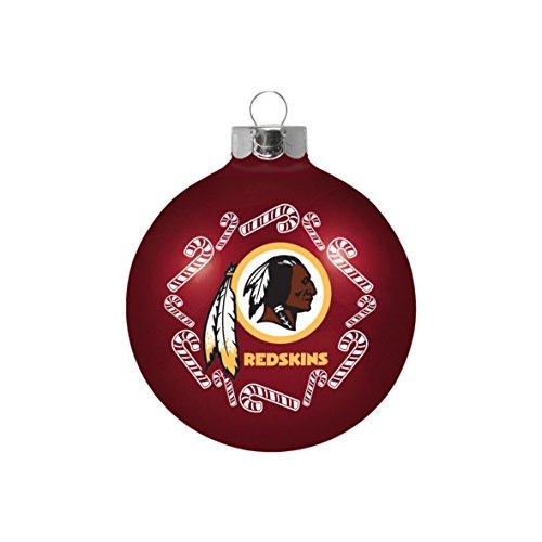 NFL Washington Redskins Small Ball Ornament (Nfl Candy Redskins Washington)