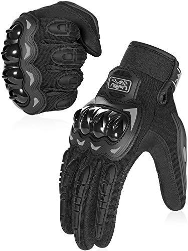 COFIT Motorrad Handschuhe, Touchscreen Motorradhandschuhe für Motorradrennen, Mountainbike, Motorcross, Klettern…