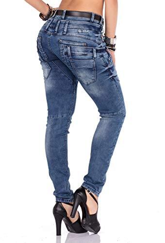 Jeans Blu Tinta amp;baxx Donna Unita Cipo RqwU585