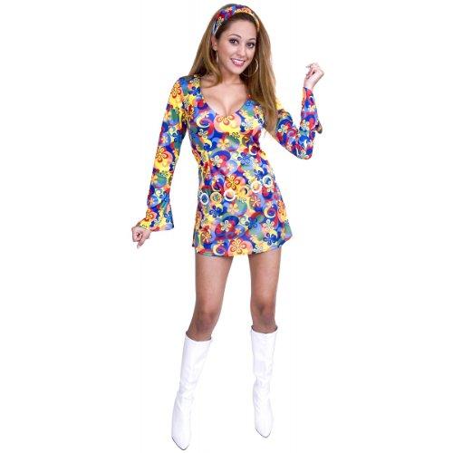 60s F (Flower Power Hippie Girls Costumes)