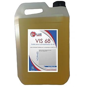 dllub - Aceite mineral para compresor de aire de tornillo 68 ...