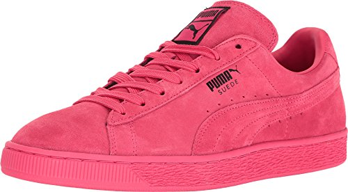 Puma Mens Suede Classic Shoes - Teaberry Red-Black Size 11.5