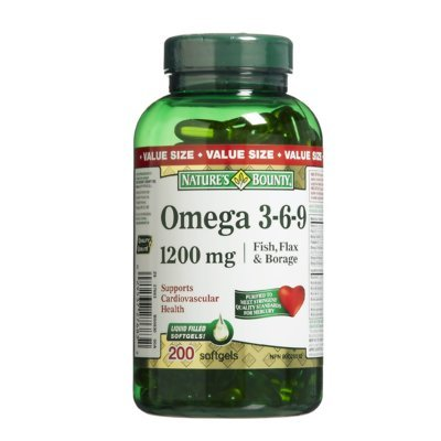 (Nature's Bounty Omega 3-6-9 1200 mg, 200)