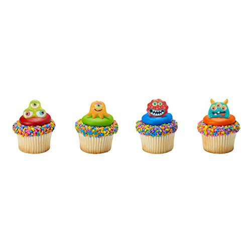 24 ct. Eyeball Monsters Cupcake Rings Cupcake Rings -