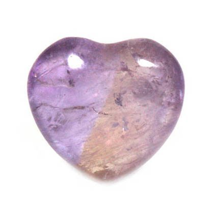 Ametrine Mini Crystal Heart - 2.5cm
