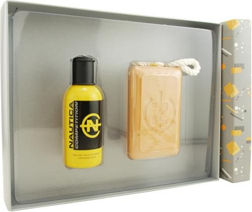 Nautica Competition (relaunch) By Nautica For Men. Set-edt Spray 2.5-Ounces & Soap (Spray 10 Ounce Soap)