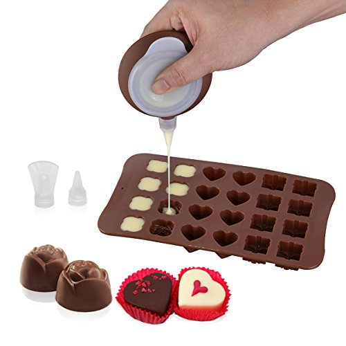 Thanksgiving Candy Mold Chocolate - Decorating Tips Bag Pen and Chocolate Candy Molds