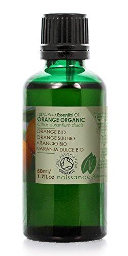 Bio Orangenöl, süß - 100% naturreines ätherisches Öl - Organisch zertifiziert - 50ml