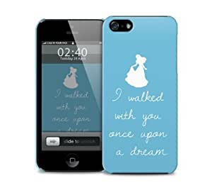 sleeping beauty once upon quote iPhone 5 / 5S protective case
