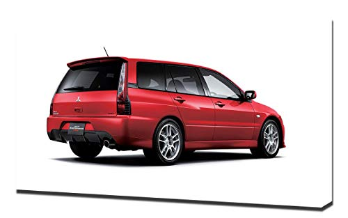Lilarama USA 2005-Mitsubishi-Lancer-Evolution-IX-Wagon-V4 Canvas Art Print - Wall Art - Canvas Wrap ()