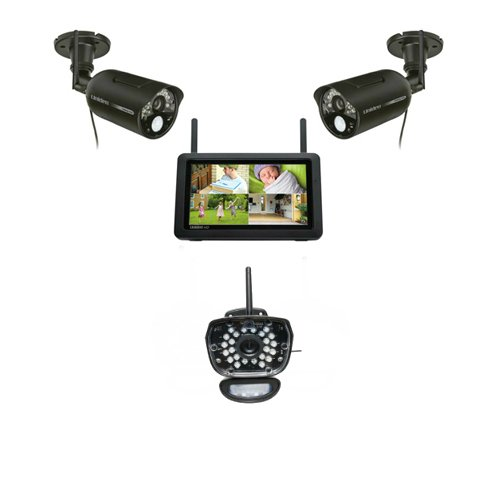 Uniden UDR777HD Kit - Digital Wireless Video Surveillance System with 7 Inch HD Monitor