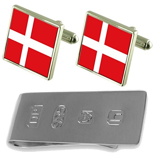 Bond Money Cufflinks Flag Flag Denmark Clip Cufflinks James Denmark amp; Cnq8F08Od