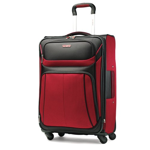 Samsonite Luggage Aspire Sport Spinner 29 Expandable Bag, Red/Black, 29 Inch