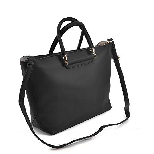 Handbags Bags Designer Sally Women Shoulder Young Black Tote Ladies PU Leather wqEIEFxzT