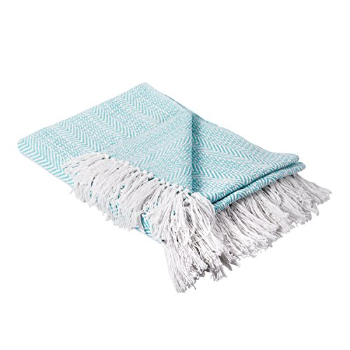 41Ij2XZa47L - DII Rustic Farmhouse Cotton Stripe Blanket Throw with Fringe For Chair, Couch, Picnic, Camping, Beach, & Everyday Use