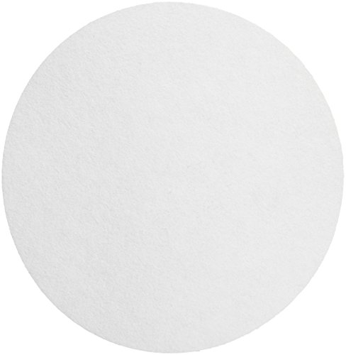 Whatman 1001-325 Quantitative Filter Paper Circles, 11 Micron, 10.5 s/100mL/sq inch Flow Rate, Grade 1, 25mm Diameter (Pack of 100)