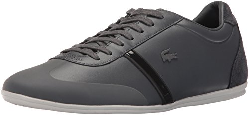 Lacoste Men's Mokara 116 1 Cam Fashion Sneaker, Dark Grey, 9 M US