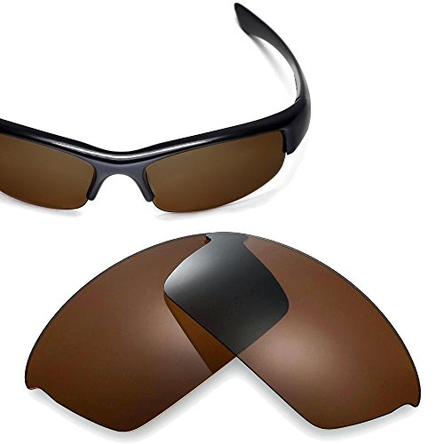 Cofery Replacement Lenses for Oakley Bottlecap Sunglasses - Multiple Options Available (Brown - Polarized)
