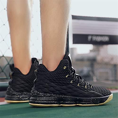 8c240b5a6517a8 Conkafoe Men's Fashion Sports Basketball Shoes Women's Breathable Non-Slip Flyknit  Sneakers