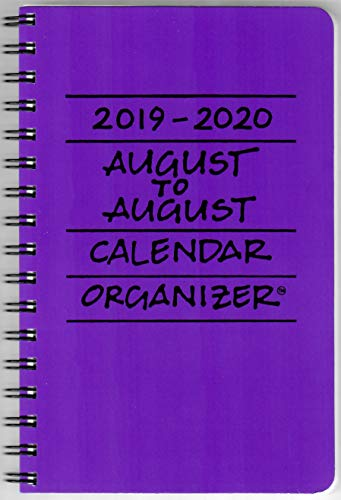 2019-2020 August to August Calen...