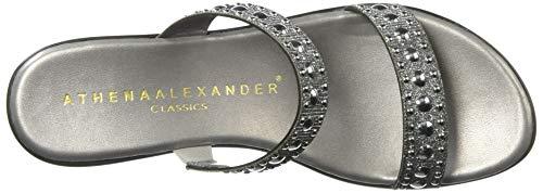 Alexander Wedge Beguine Sandal Women's Pewter Athena SwtqZw