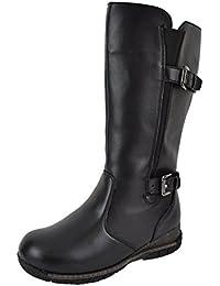 Women's Winter Boots Waterproof 3M Thinsulate Wool Blend Lining Toasty Warm Weatherproof Wide Toe Box Temperature Rating -32C/-25F Boston