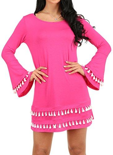 Women Layered Sleeve Double Tassel product image