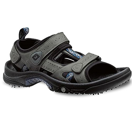 FootJoy Junior Charcoal/Navy Golf Sandals 2 2