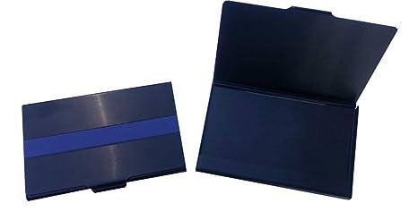 Amazon thin blue line police black business card case office thin blue line police black business card case colourmoves