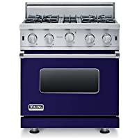 Viking 30 Open Burner Gas Range, Natural Gas