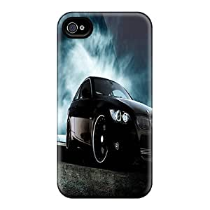 Protector Hard Cell-phone Case For Iphone 4/4s With Allow Personal Design Trendy Bmw Pictures No1cases