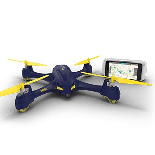 ランフィー Hubsan X4 スター H507A アプリ互換性のある Wifi FPV 720p の HD カメラ GPS RC ドローンクワッドローター RTFA