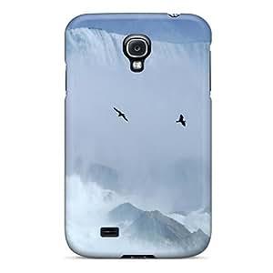 Durable Defender Case For Galaxy S4 Tpu Cover(birds At Niagara Fall)