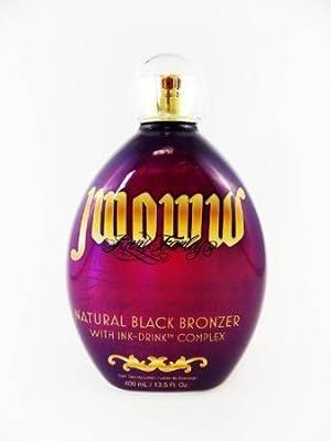 JWOWW New NATURAL BLACK BRONZER Vitamin-rich Ink - DrinkTM Complex tanning lotion 13.5 Oz