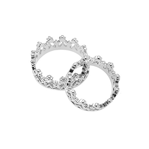 Perfect Heart Crown Ring Fashion