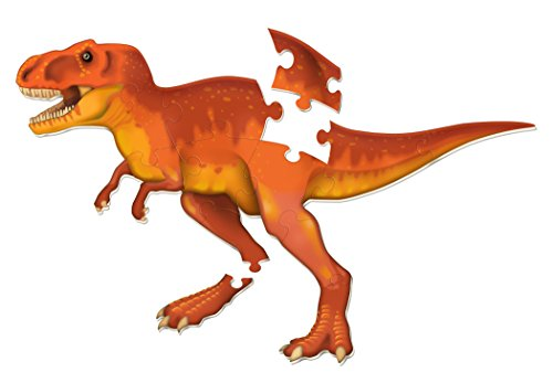 T-rex Floor Puzzle - Learning Resources T-Rex Jumbo Dinosaur Floor Puzzle, 13 Pieces