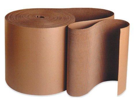 Aviditi SF15 A Flute Single Face Corrugated Roll, 250' Length x 15