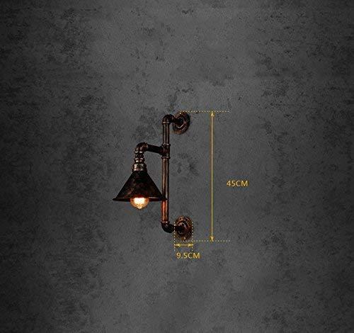 FJTXC Raffinata Luce d'Acqua, Luce retrò, Luce Fissa, Ferro, Ristorante, Industria di ingegneria, Illuminazione Decorativa, Parete, luci Decorative, e27, Illuminazione, Bar, Posto, intrattenimento, i