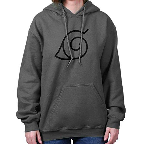 Brisco Brands Konoha Naruto Cute Kakashi Sensei Manga Gym Ninja Hoodie Sweatshirt by Brisco Brands (Image #4)