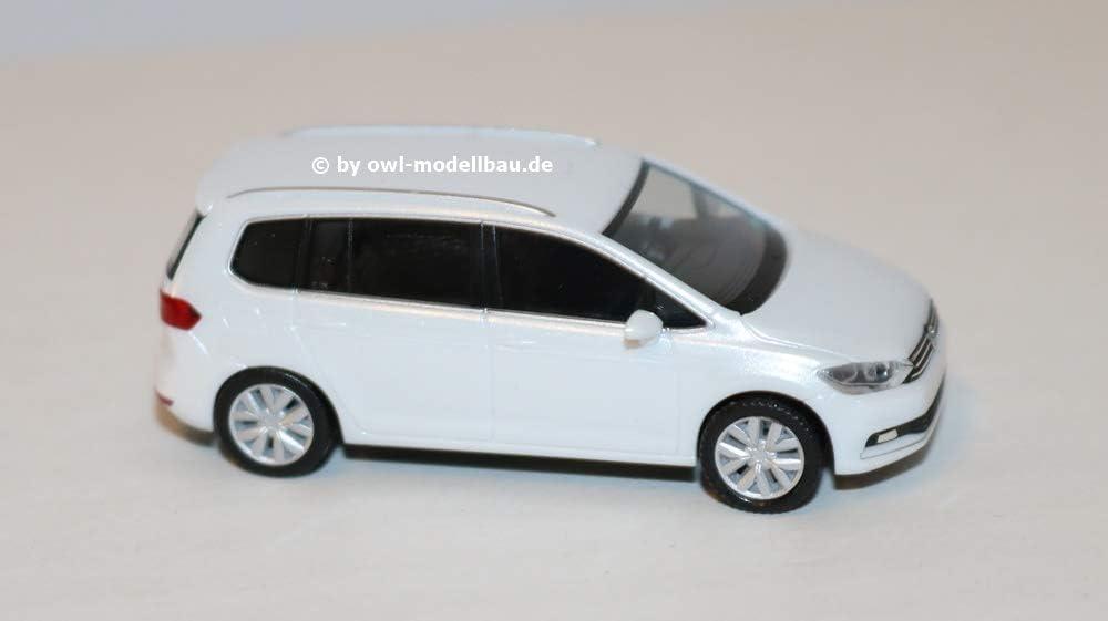 oryxweiß NEUWARE! HERPA 038492-003 H0 1:87 VW Touran