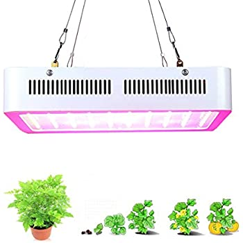 Supmovo LED Grow Light, 600W LED Grow Light Kits, Full Spectrum Grow Light with UV IR for Hydroponic Plant Veg Flower and Indoor plant