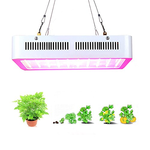 1000W LED Grow Light, Supmovo LED Grow Light Kit, Full Spectrum with UV IR for Green House Veg and Flower, LED Plants Grow Lamp for Indoor Plants Weeding, Growing by Supmovo