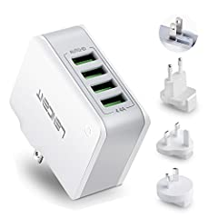 Multiple USB Wall Charger