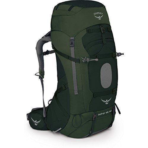 Osprey Aether AG 85 Hiking Backpack Medium Adirondack Green [並行輸入品] B07DVR8Z1Z