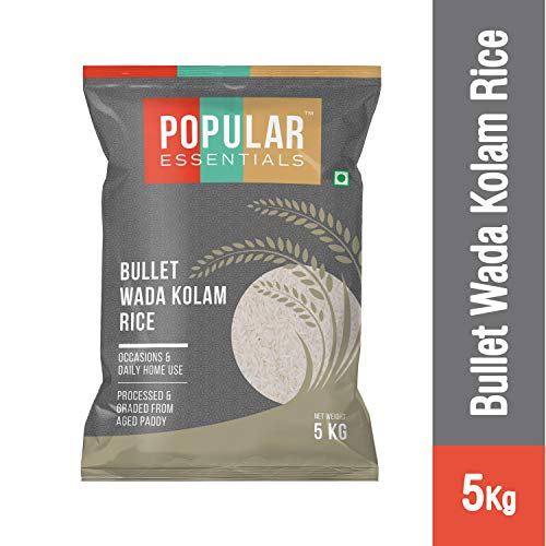 Popular Essentials Bullet WADA Kolam Rice 5kg